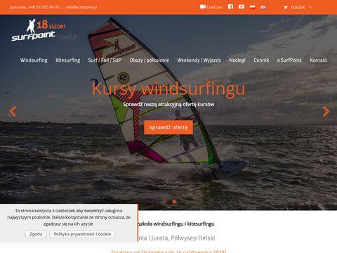 Windsurfing obozy