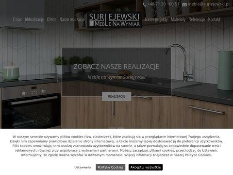 Surlejewski meble z drewna Wrocław