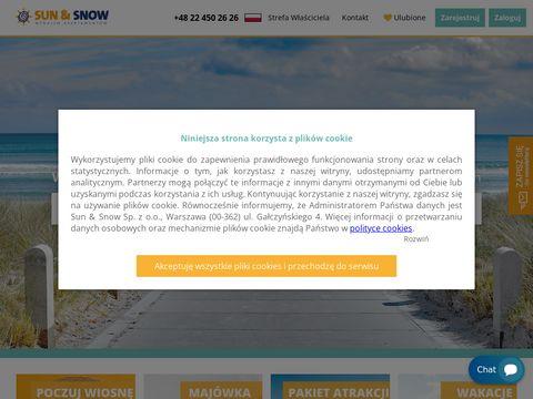 Sunandsnow.pl wynajem apartamentów