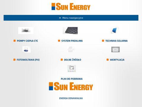 Sun Energy szwedzkie pompy ciepła ivt