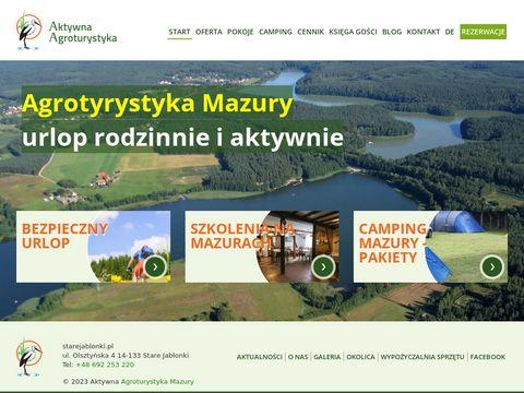Starejablonki.pl - camping Mazury