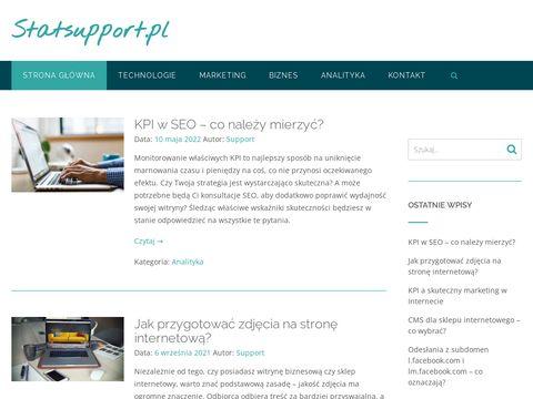 Statsupport.pl - analiza statystyczna