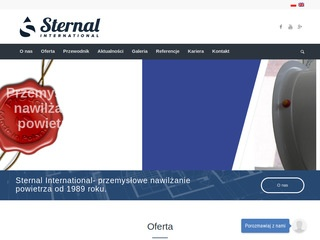 Sternal International systemy nawilżania