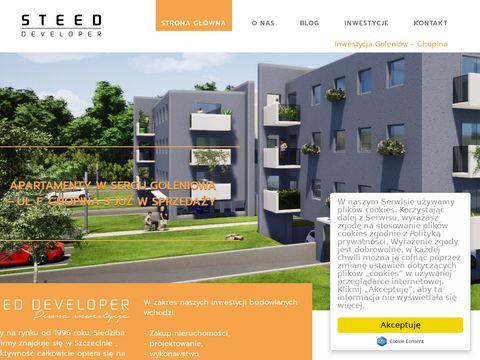 Steed nowe mieszkania w Szczecinie
