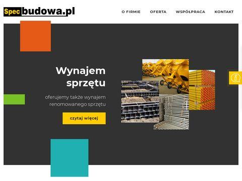 Specbudowa - sklep budowlany