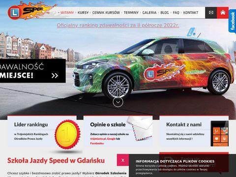 Speed.auto nauka jazdy Gdańsk