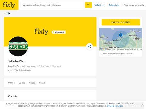 Szkielko.com.pl zakład szkarski Koszalin