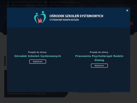 Szkoleniasystemowe.pl szkolenia w psychoterapii