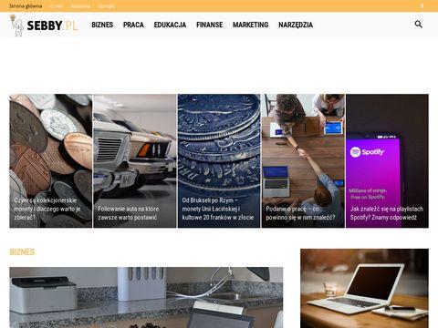 Sebby.pl szkolenia sprzedażowe, doradztwo biznesowe