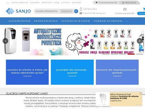 Sanjo.pl - Suszarki nowej generacji