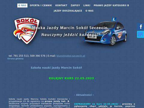 Sokol-szczecin.pl nauka jazdy Stargard