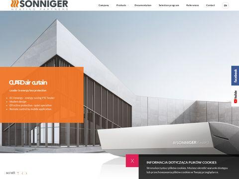 Sonniger - nagrzewnice gazowe