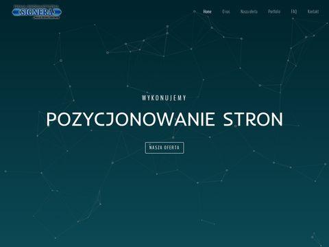 Projektowanie stron Gorlice i okolice - signera.pl