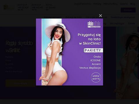Skin Clinic - wypełnianie zmarszczek