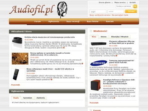 Sklep.audiofil.pl kino domowe Szczecin