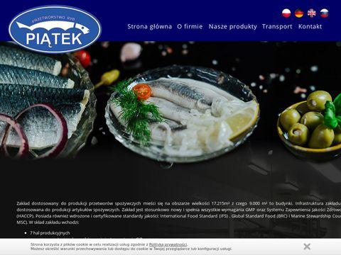 PSJ Sp. z o.o. zakład przetwórstwa rybnego