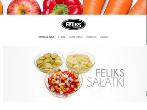 Feliks - sałatki warzywne, ogórki kiszone