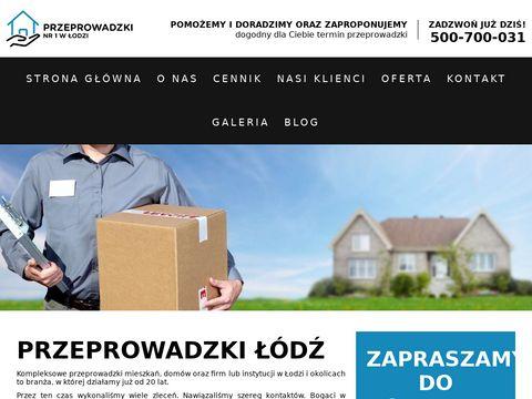 Firma transportowa Przeprowadzki Łódź