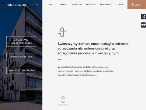 Primeproject.pl zarządzanie nieruchomościami