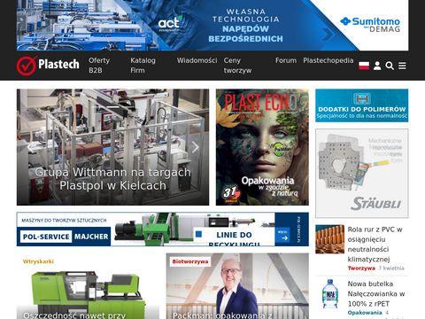 Plastech.pl - tworzywa sztuczne, recykling