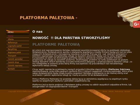 Platformapaletowa.pl sprzedaż Wołomin