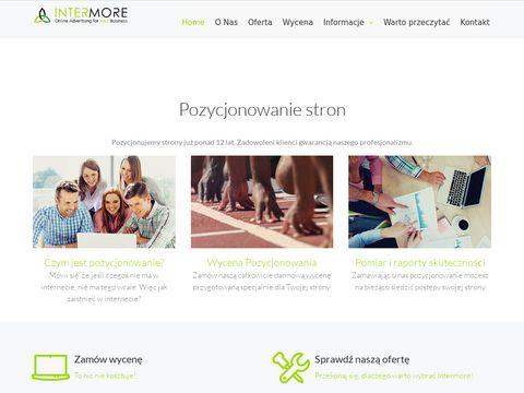 InterMore.pl - reklama w internecie