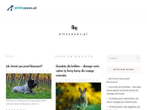 Pinkypaws.pl szelki dla psów
