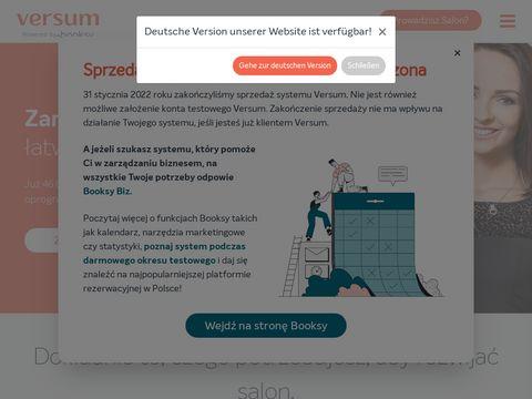 Versum.pl - programy dla salonów fryzjerskich