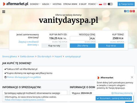 Vanitydayspa.pl mezoterapia bezigłowa Gdynia