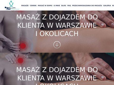 Masaże w Warszawie