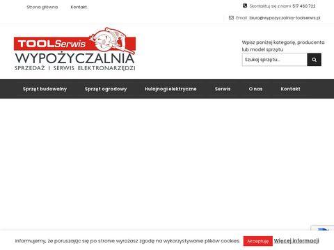 Wypozyczalnia-toolserwis.pl naprawa elektronarzędzi
