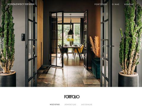Wesolowscy-design.pl projektowanie wnętrz