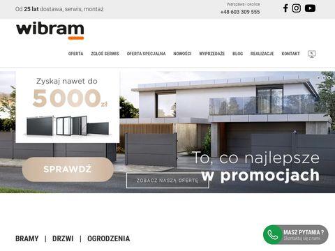 Wibram.com.pl brama garażowa Warszawa