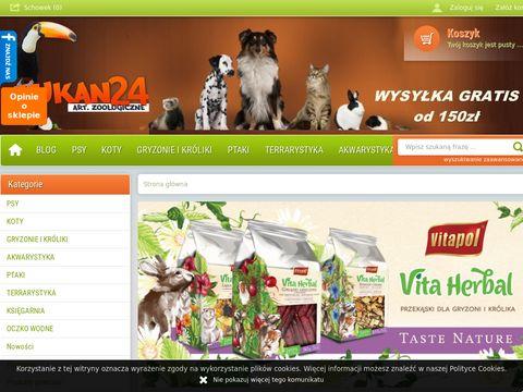 Tukan24.pl internetowy sklep zoologiczny