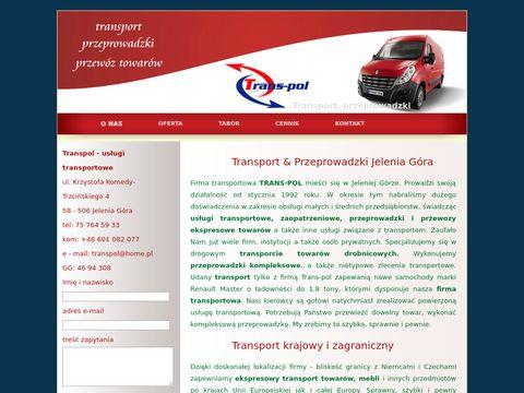 Usługi transportowe Jelenia Góra