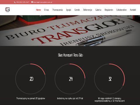 Transglob.com.p tłumaczenia Wrocław