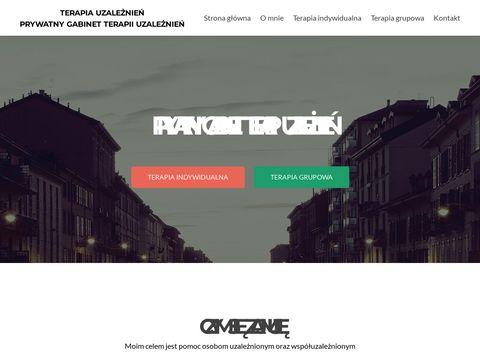 Terapiauzaleznien.katowice.pl prywatny gabinet