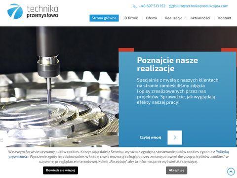 Technikaprodukcyjna.com obróbka cnc