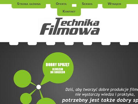 Technika-filmowa.pl wózek kamerowy