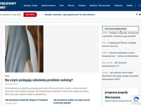 Tekstowy.net - dania z truskawkami