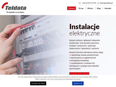 Teldata monitoring firmy Warszawa