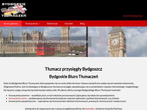 Tlumaczeniabydgoszcz.com.pl biuro tłumaczeń