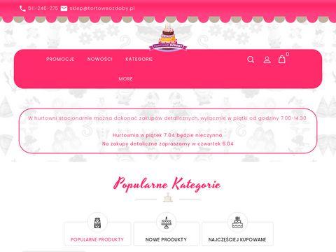 TortoweOzdoby.pl - dekoracje tortów