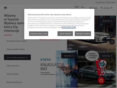 Toyota.sosnowiec.pl salon samochodowy Katowice