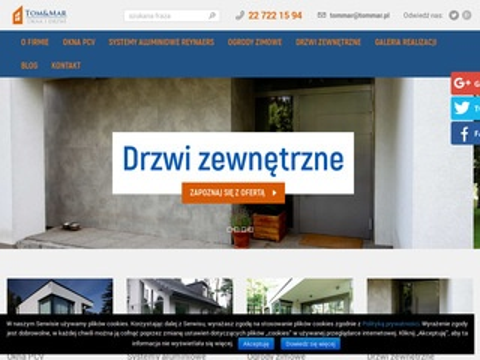 Tom&Mar fasady aluminiowe Warszawa