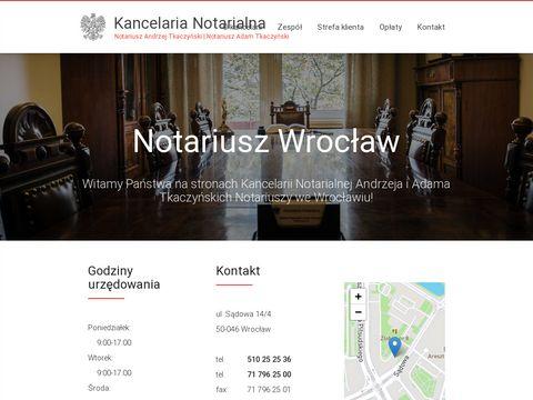 Notariusz Wrocław sobota