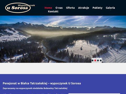 Usorosa.pl noclegi Białka Tatrzańska