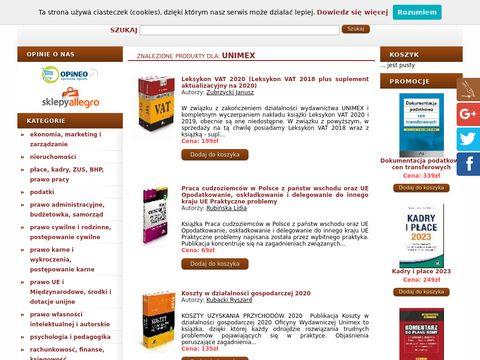 Unimex leksykon vat ebook