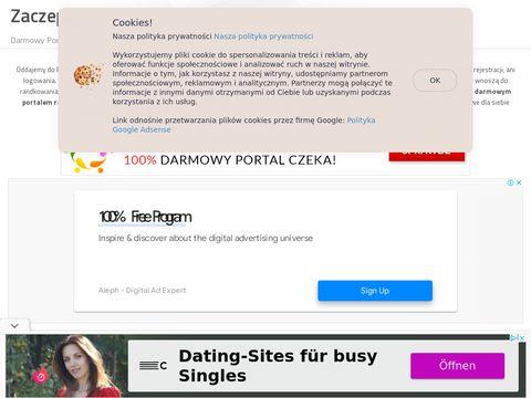 Zaczepka.net darmowy portal randkowy