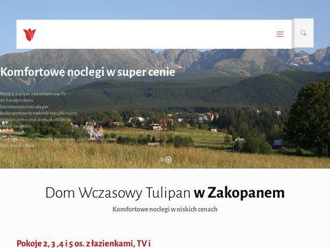 Zakopanetulipan.pl dom wczasowy